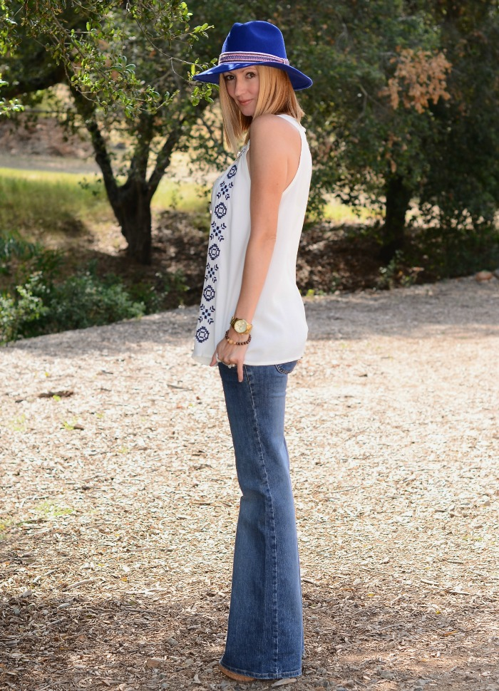 Frankie B Flared Jeans