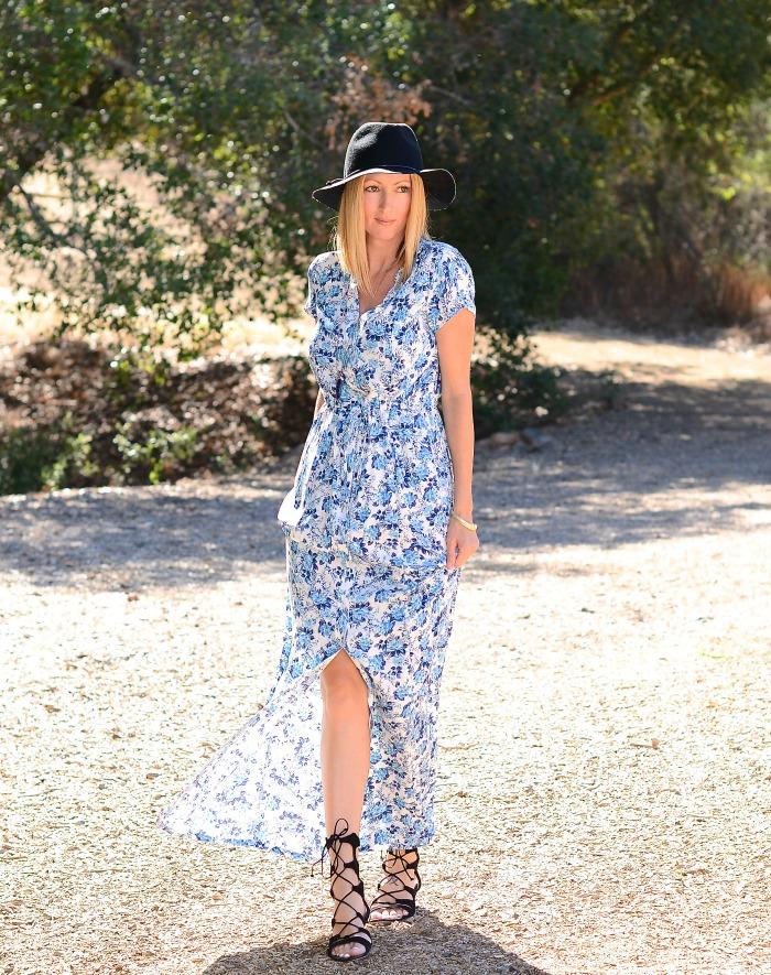 Lauren Conrad Floral Maxi