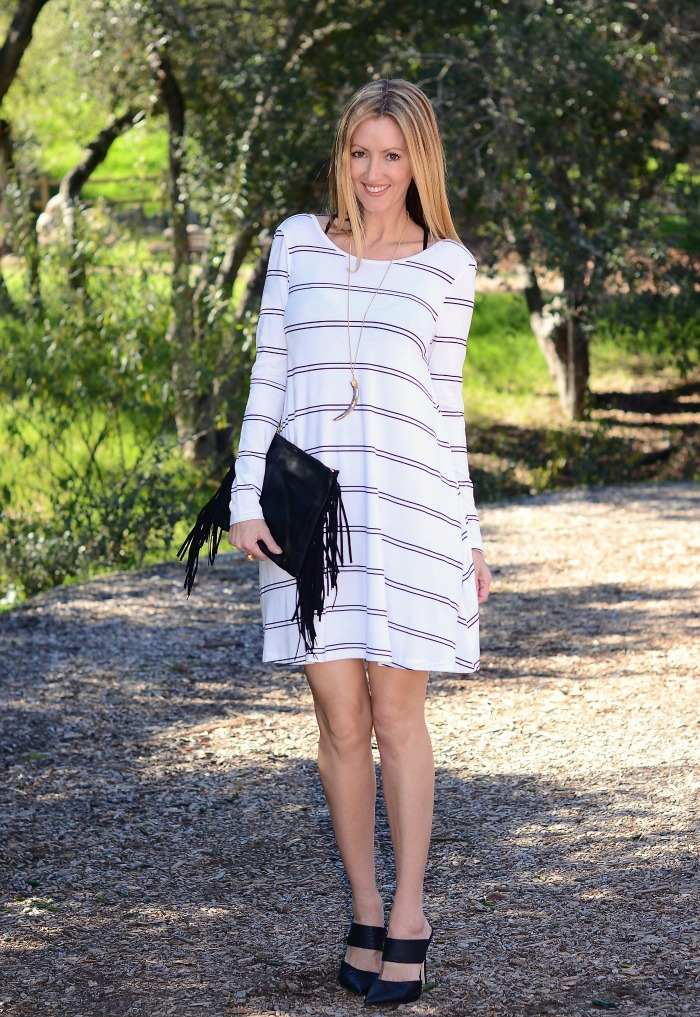 Swirl Boutique Striped Dress