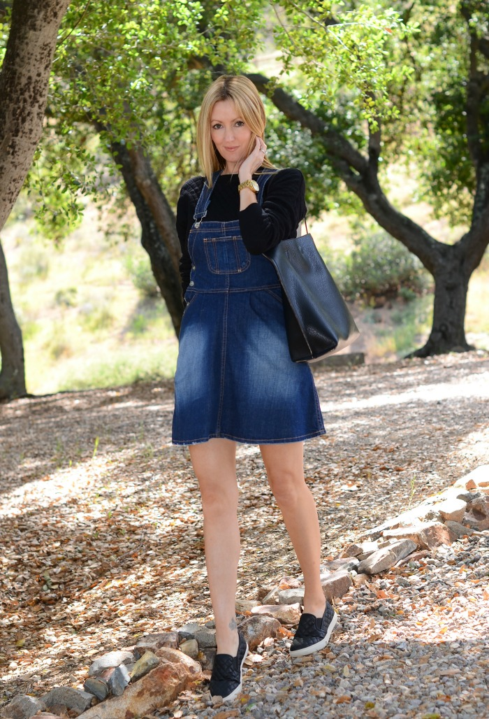 Denim Skirt Overall