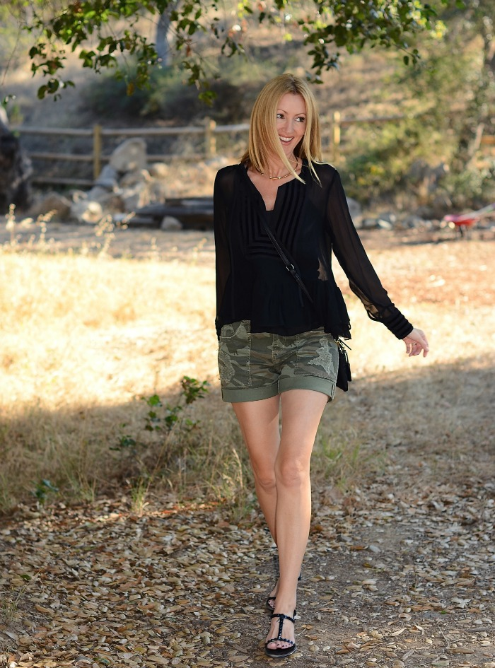 Rock & Republic Camo Shorts