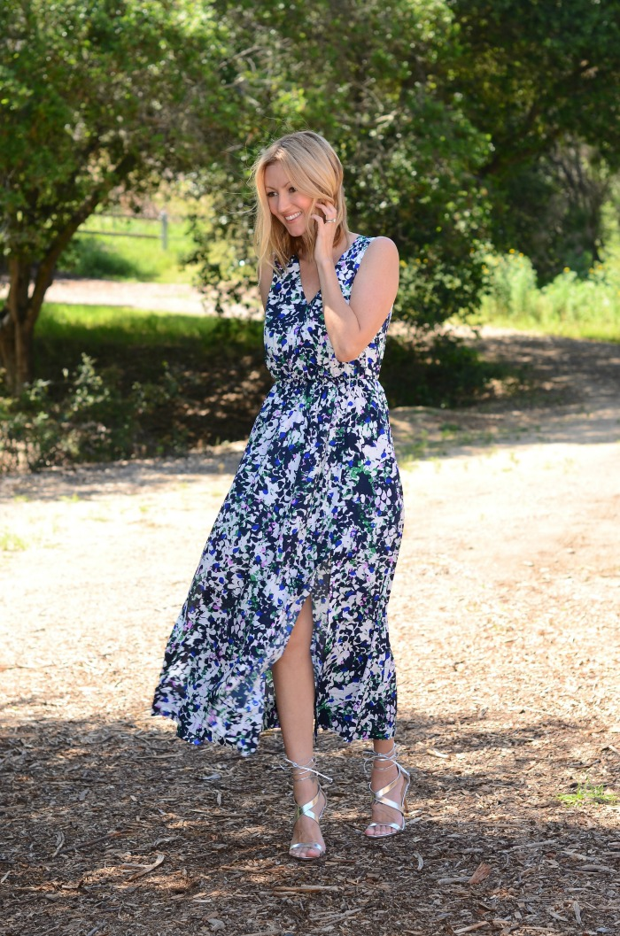 Banana Republic Floral Maxi