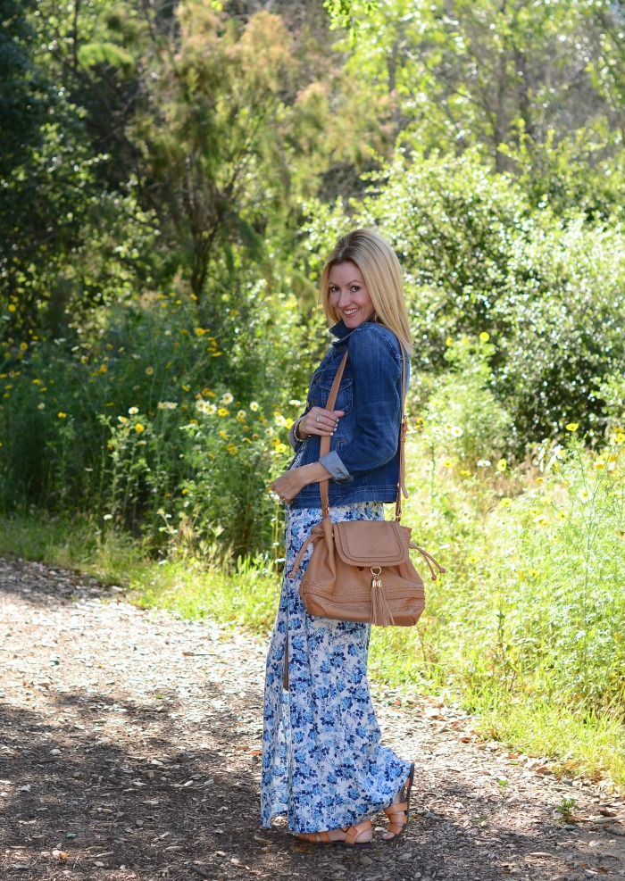 Lauren Conrad Floral Maxi Dress
