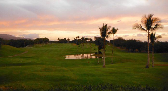 Sunset on Maui Nui Golf Course