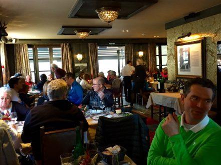Lovely Lunch at Castel, Chamonix
