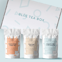 Blue Tea Box