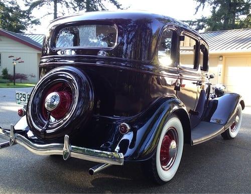 Westside Story – Bonnie & Clyde Car