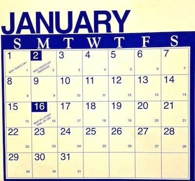 Westside Story Julian Calendar