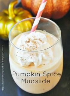 pumpkin spice mudslide
