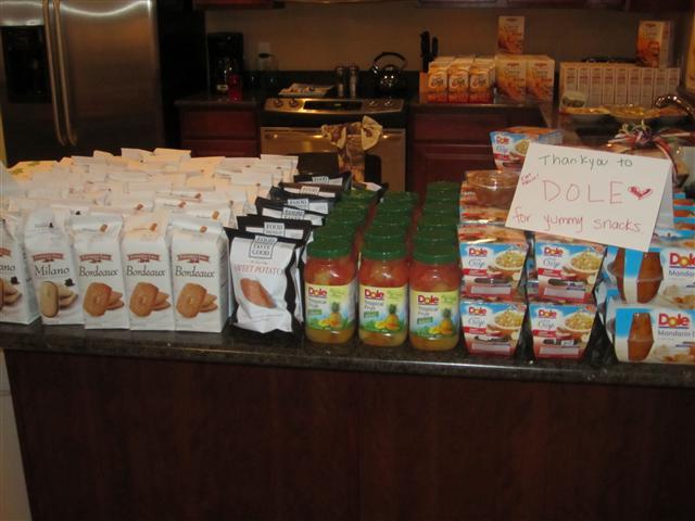 Pepperidge Farms Dole Snacks