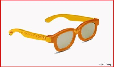 Lion King Simba 3D Glasses