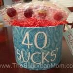 DIY 40th Birthday Gift Idea
