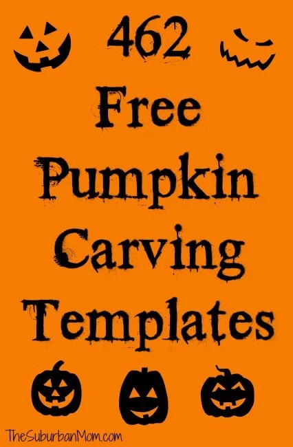 462 Free Pumpkin Carving Templates For Halloween - Pumpkin-carving-patterns-free