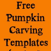 462 Free Pumpkin Carving Templates For Halloween