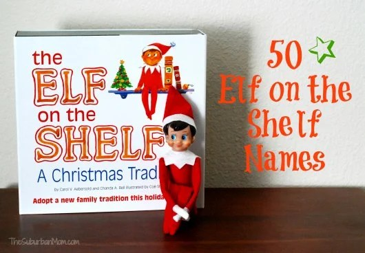 How To Name Your Elf On The Shelf ~ 50 Ideas