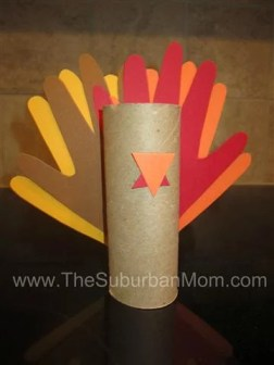 Thanksgiving Turkey Hand Print Craft