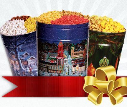 Topsy Popcorn Tin