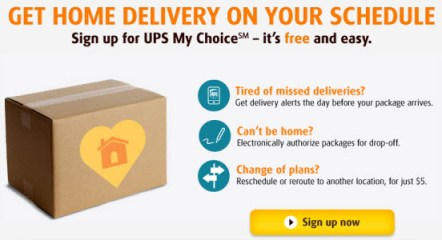 Never Miss a Delivery with UPS My Choice - TheSuburbanMom