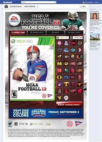 NCAA 13 You're Covered Gators