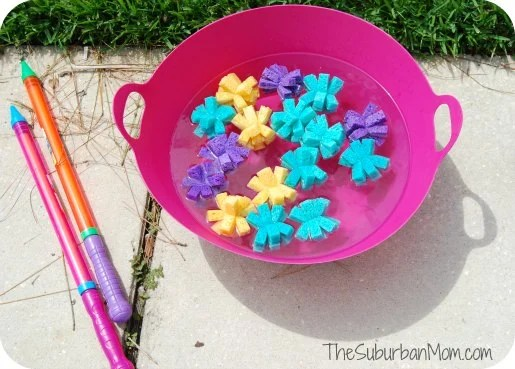 Sponge Balls Summer Kids Craft