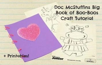 Doc McStuffins Big Book of Boo-Books Disney Junior Craft