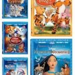 Disney Movies Tigger Lady Tramp Pocahontas Rescuers Aristocats