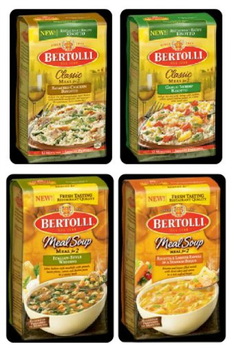 bertolli rissoto meal soup dinner
