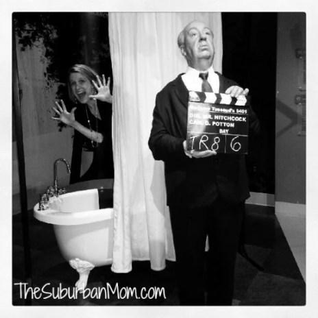 Madame Tussaud's Alford Hitchcock Scream