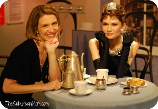 Madame Tussaud's Breakfast at Tiffany's Audrey Hepburn