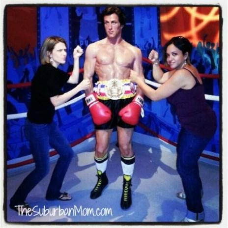 Madame Tussaud's Rocky