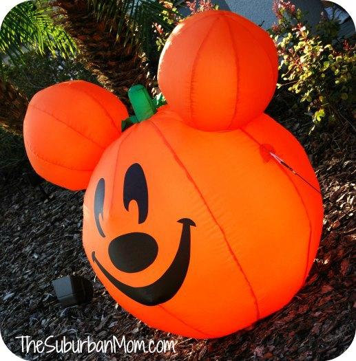 Mickey Mouse Pumpkin Disney Halloween