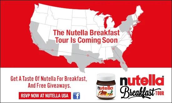 Nutella Breakfast Tour Orlando