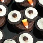 Owl Cupcakes Halloween Hostess Ding Dongs Desert