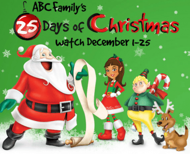 Abc Family 25 Days Of Christmas.Abc Family S 25 Days Of Christmas Starts December 1 Full
