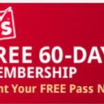 BJs 60-day free membership trial