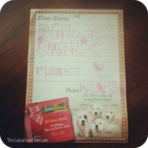Christmas Letter to Santa