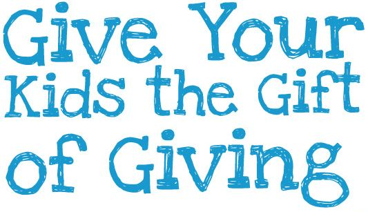 Give Your Kids The Gift Of Giving