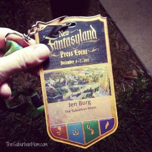 New FantasyLand Press Pass