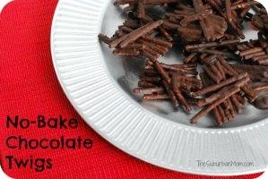 No Bake Chocolate Pretzel Treats