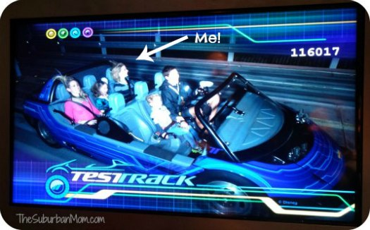 Test Track Opening Ride Picture Epcot