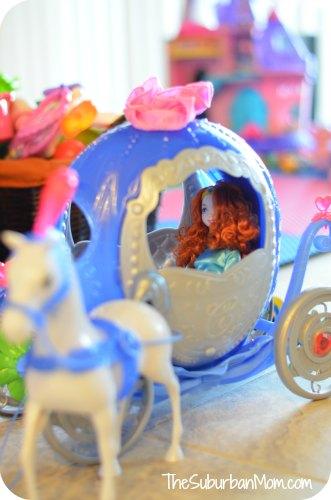 Disney Princess Cinderella Transforming Pumpkin Carriage