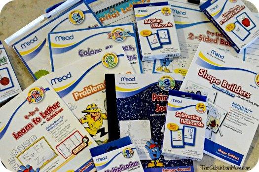Mead Writing Fundamentals Workbooks Flash Cards