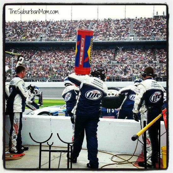 NASCAR Pit Row