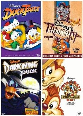 DuckTales TaleSpin Darkwing Duck Rescue Rangers Disney