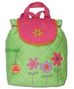 Stephen Joesph Flower Quilted Backpack