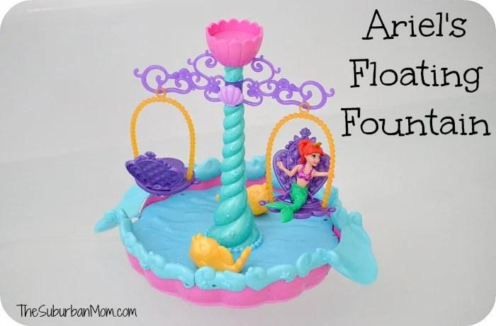 Ariel's Floating Fountain Disney Little Mermaid Bath Toy