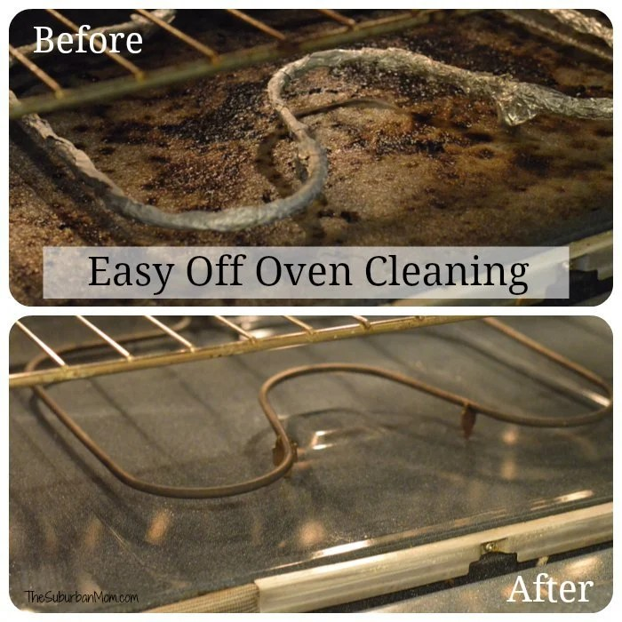 Easy Off Before After Oven