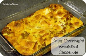 Easy Overnight Breakfast Casserole