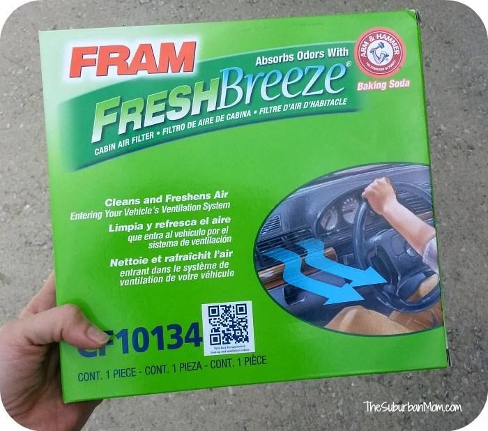 Fram Fresh Breeze Car Air Filter