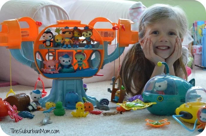 Octonauts Octopod Gup Crew Toys